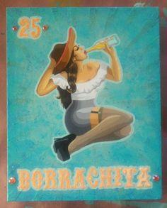 Boracha Loteria card