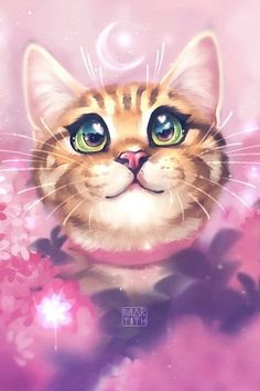 A collection of cat tattoo ideas and art inspiration, perfect for all genders and ages! You'll find lots of digital drawings, paintings and more! Realistic Cat Drawing, Cute Cat Drawing, Cute Baby Cats, Kittens Cutest, Cute Cat Tattoo, Cute Animals Images, Cute Cat Wallpaper, Cat Sketch, Kawaii Cat