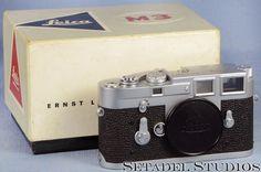 Leica M3 SS ELC Chrome Camera Body N.1135007* Rare