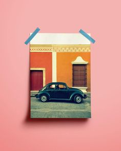 #VW ALL OVER THE PLACE by Julia Dreier #Photocircle #travelphotography from #Mexico #LatinAmerica #Caribbean #car #colors #colorsplash #wallart #artprint #artforgood #streetphotography #pink #orange #red #beetle #vwbeetle #vwbeetlelovers #tuesdaylove #tuesdaymorning #walldecor #artwall #interiordesign #homesweethome #roominterior #homestyle #homeinspiration