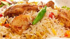 طريقة عمل برياني مع أوراك الدجاج - المطبخ العربي