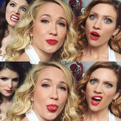 TRIPLE TREBLE IS GOING TO BE IN A BUZZFEED VIDEO TOGETHER. ALSO UNIVERSAL REFUSES TO LET BECHLOE HAPPEN BECAUSE THEY ARE A BUNCH OF HOMOPHOBES THAT CARE MORE ABOUT MONEY THAN PEOPLE ACCEPTING THEMSELVES/OTHERS.   #sendricow #tripletreble #annakendrick #brittanysnow #annacamp #gingersnow #becamitchell #chloebeale #aubreyposen #pitchperfect #pp3 #sendrick #bechloe