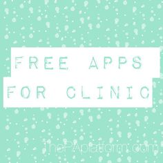The PA Platform - Free Apps for Clinic Use
