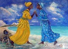 Yemaya y Oshún Hija de las dos aguas