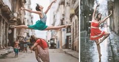 (Cuba, the ballet) Omar Z. Robles From the artist: Over the past two years I've devoted my work almost exclusively to photographing ballet dancers within urban. Street Dance, Street Ballet, Shall We Dance, Lets Dance, Ballerina Dancing, Ballet Dancers, Ballet Shoes, Dance Like No One Is Watching, Ballet Photography