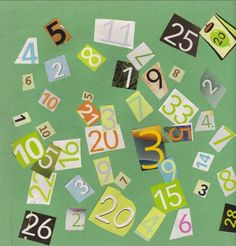 Have preschoolers find Numbers in magazines, cut them out (parent can do that for them as well), name them and then glue them to make a collage.