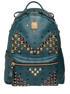 MCM - STARK MEDIUM STUDDED BACKPACK