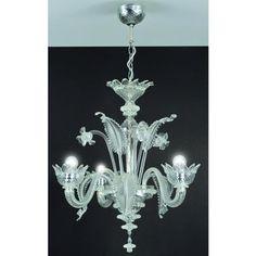 Muranese 3 lights crystal Cristalleria Murano…