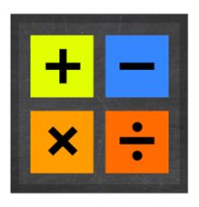 FREE APP! Choose numbers to add/subtract/multiply/divide & complete equations as fast as you can in the fun math game Sansu!