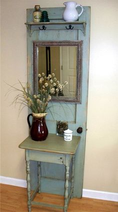 Charleston Door Hall Tree by RiverSongMtP on Etsy, $475.00