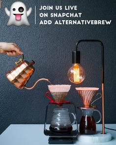 SnapChat: AlternativeBrew Live Brewing Tips Tricks Cafe Visits & More! Get in on the Live Action at Alternative Brewing! by baristadaily
