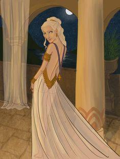 Dany in Meereen by Skephers