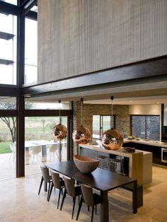 Contemporary Dining Room Mid Century Modern Design, Pictures, Remodel, Decor  and Ideas - page 7 | I just like it in 2018 | Pinterest | Modern design ...