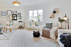 blanchir un parquet - le parquet blanc en décoration d'intérieur