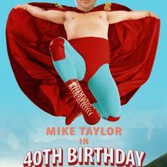 Nacho Libre movie spoof invitation. Become Jack Black ....for your milestone birthday