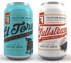 Fullsteam Brewery Cans