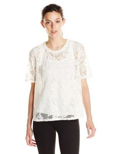 BCBGeneration Women's Open-Back Top - Throw-On-and Go Shirts http://trendtags.net #fashion #summer2015