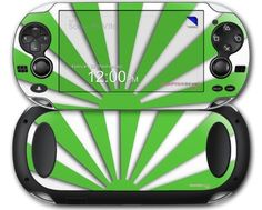 Rising Sun Japanese Flag Green  Decal Style Skin fits Sony PS Vita -- You can find more details by visiting the image link.Note:It is affiliate link to Amazon.