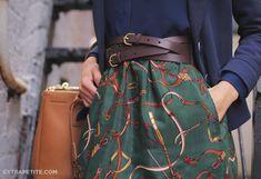 ExtraPetite.com -  Учебник Предварительный просмотр: DIY-Line юбка W / Карманные Tutorial Preview: DIY A-Line Skirt w/ Pockets
