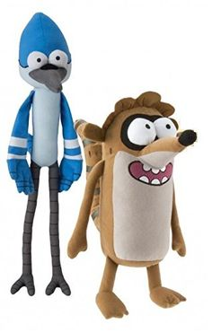 "Cartoon Network - Regular Show 12"" to 18"" Plush Set - Rigby and Mordecai Regular Show http://www.amazon.com/dp/B00PV7CTTW/ref=cm_sw_r_pi_dp_RIgUvb1B36V53"