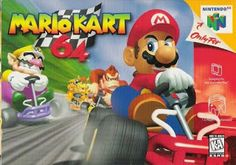 Old school video games: MARIO KART 64. Repin if you remember!