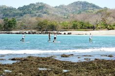 Try relaxing and fun Stand Up Paddling in Santa Teresa Costa Rica.