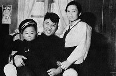 KOREAN CENTRAL NEWS AGENCY/KOREA NEWS SERVICE VIA AP IMAGES Family Legacy Kim Jong Il as a child with his parents Kim Jong Suk, right, and leader Kim Il Sung, in a souvenir picture released by North Korea's official Korean Central News Agency.