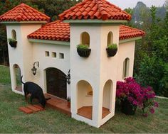 What an awesome dog house
