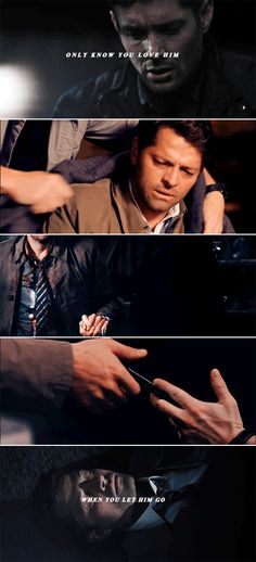 Cause love comes slow and it goes so fast… #spn #destiel