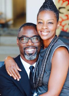 Perfect looking/matched couple. Isaiah Washington and wife, 19 years Black Love Couples, Cute Couples, Power Couples, Black Celebrity Couples, Celebrity Pix, Black Actors, Black Celebrities, Famous Celebrities, My Black Is Beautiful