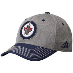 824b23e0a7bbea Men's Winnipeg Jets adidas Heathered Gray Team Logo - Adjustable Snapback  Hat, Your Price: $35.99 CAD