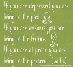 Live in the present - thanks Sierra Boggess
