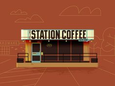 Filling Station Coffee by Preston Brigham