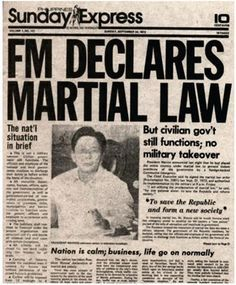14 essential plays on Martial Law (Part 1) Ferdinand, People Power Revolution, French Revolution, Philippine Map, Philippine Mythology, President Of The Philippines, Jose Rizal, Martial