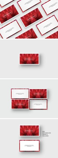 69 best business cards modern creative images on pinterest red business card template templates business card template for an great appearance the background image is included psd fileth by agatacreate reheart Image collections