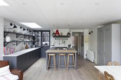 From updating to rationalizing existing space, we all have our reasons for renovating. When London portrait photographer Abi Campbell's divorce required he