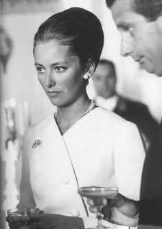 Former Queen Paola of Belgium