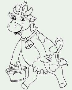desenhos para pano de prato vaquinha vaca