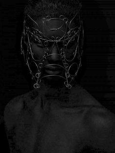 Nor Autonom by Mathias Sterner - Wire masks. S)