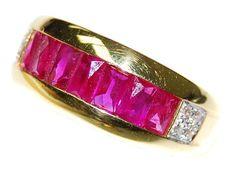 Pink Ruby and Diamond Unique 18K Yellow Gold Band Ring [R... https://www.amazon.com/dp/B00BRJ2OEI/ref=cm_sw_r_pi_dp_qz0GxbDGZYPG5