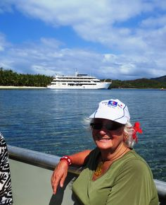 The kiwi travel writer enjoys Fiji cruising