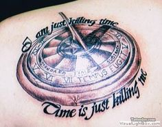 Tattoos by Nick Flanagan - sundial