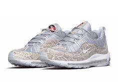 "Supreme x Nike Air Max 98 ""Sail"" 844694-100 | SneakerNews.com"
