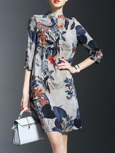 STYLEWE, LONYUASH, floral-print Silk Midi Dress, $118.00, https://www.stylewe.com/product/floral-print-silk-midi-dress-33086.html