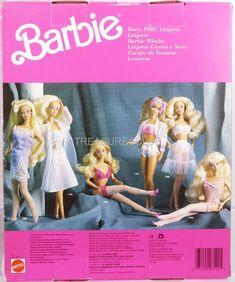 1989 Barbie Fancy Frills Lingerie Barbie Foreign 7122 New NRFP Mattel, Inc. 3+ | eBay
