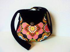 Funky Hippie Boho Flower Power Bag Purse Kelda Goa by Bansheeshop, $65.00