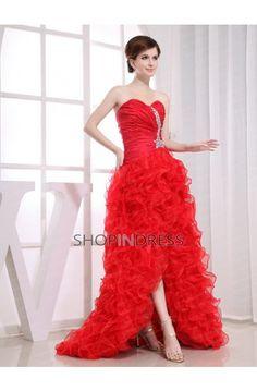 red dress #prom #dresses #sexy