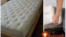 Ak bývate v byte, túto radu vyvážite zlatom: Toto zbaví matrace vlhkosti, zlikviduje baktérie aj staré škvrny  a netreba ich nikam nosiť!