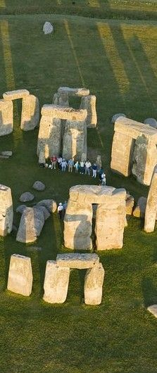 Stonehenge near Amesbury in Wiltshire, England # waiting for the solitice to arrive. # something to look forward to # blue stones are supposed to have healing powers