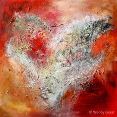 Doorzichtig Hart by Wendy Graat te koop op www.wendygraat.nl/galerie/vrij-serie-1